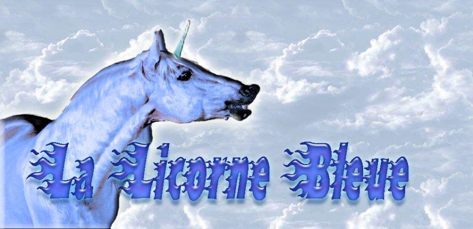 les poemes de la licorne bleue