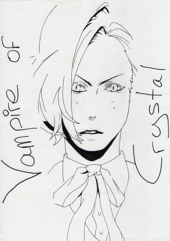 Vampire of Crystal - Dessin random #2