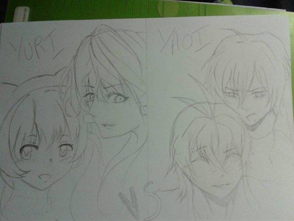 WIPs ! - Yaoi, Yuri et autres histoires....
