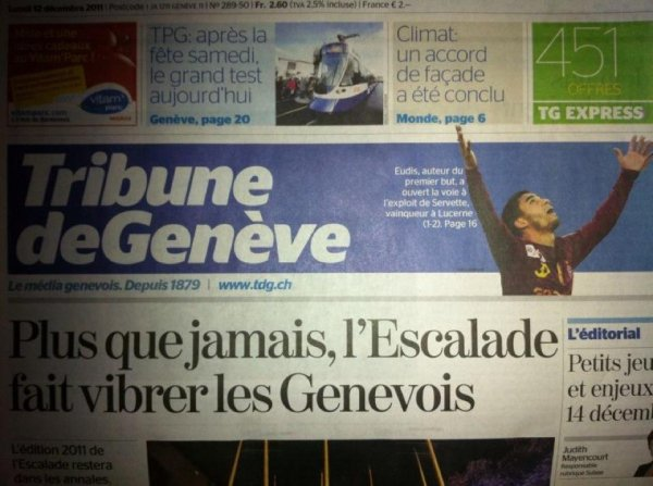 """Article dans la Tribune de Genève """"J'ai donné un sens à la vie de mon fils"""""""