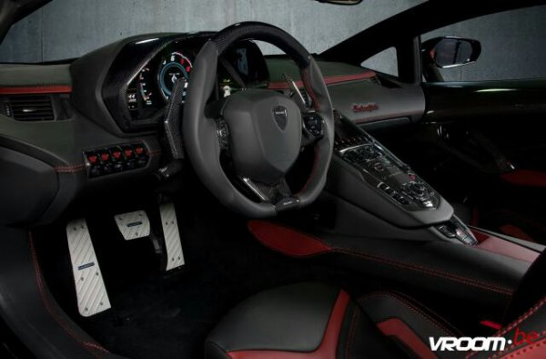 Lamborghini Aventador J : une surprise décoiffante