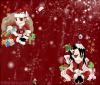 【montage fait par moi pour Noël avec Byakuya et Renji dessus.Joyeux Noël !】