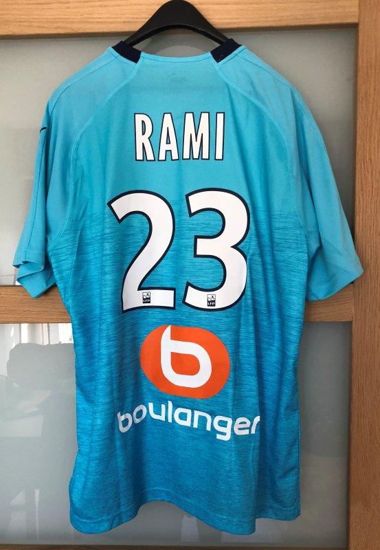 Maillot Extérieur Olympique de Marseille 2018/19 RAMI