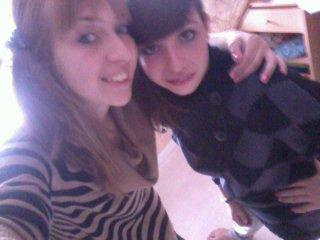 Moi & la p'tite soeur  ! 08/04/2012