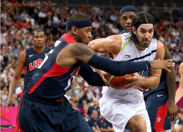 USA vs ARGENTINE ( 10/08/2012 )