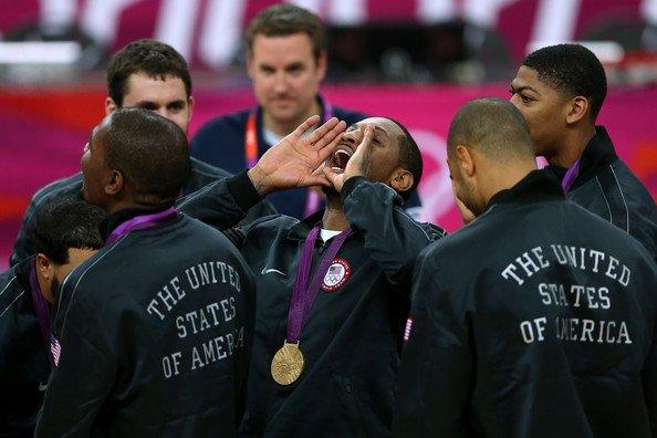 Remise de la médaille d'or