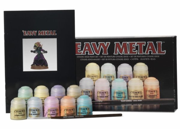 Set de Peinture Edge 'Eavy Metal
