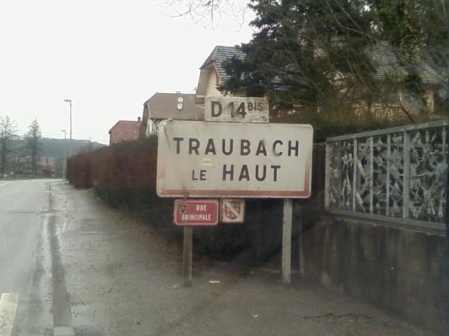 Traubach-le-Haut (68) - Ewer-Tràiwa