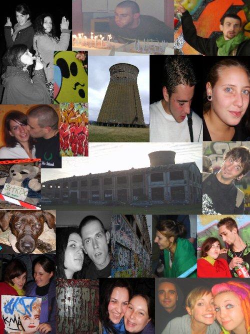 """Wk 9. 10. 11 Octobre 2009 - Resto with my Lovely MoOlette's / Annif Jules Têtard / Putain de Teuf """"Sytri-X & ses Amis"""" à la SMN ( 14 )"""