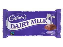 Une barre de chocolat équitable chez Cadbury