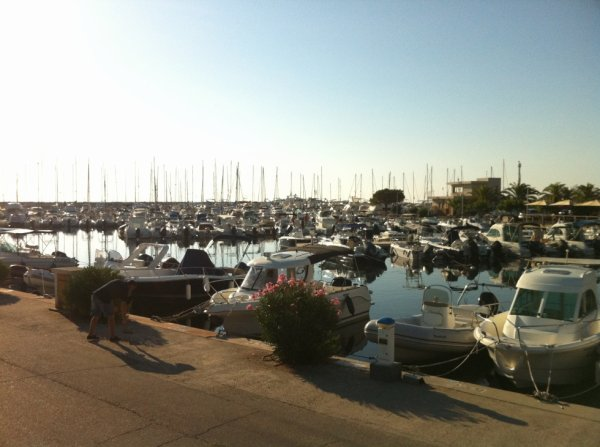 suite du port de Solenzara