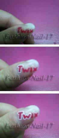 Nail Art --> TWIX