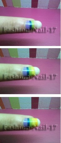 Nail Art --> Zèbre Multicolore