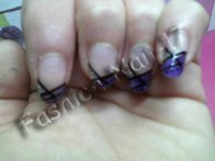 Manucure Violette