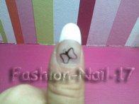 Nail-Art --> Papillon