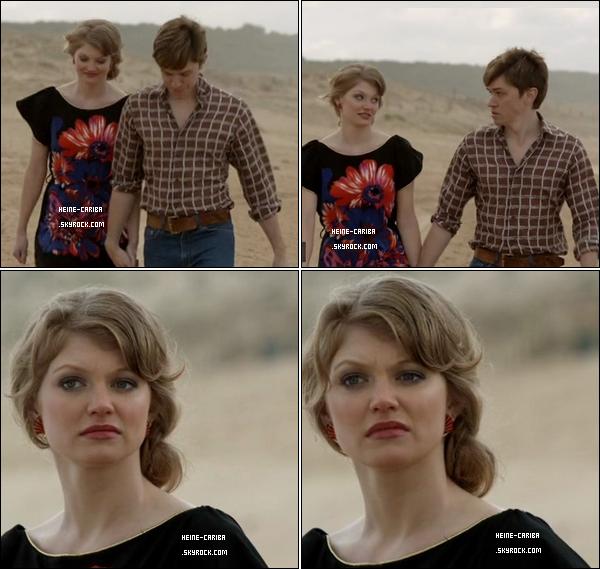 """Capture des scènes de Cariba durant le 2ème épisode de la nouvelle série """"Howzat !"""""""