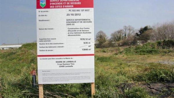 CONSTRUCTION D UNE CASERNE DE POMPIERS A L EMBRANCHEMENT DE LA VOIE RAPIDE DES 24H DU MANS