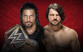 Extreme rules 2016 : Roman Reigns (c) vs Aj Style