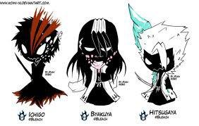 Trois monstres !!