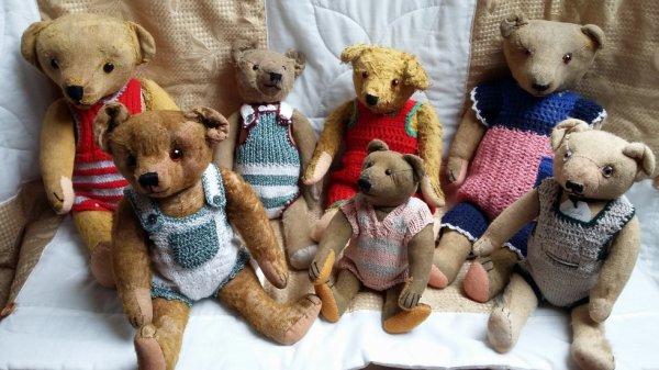 Mes ours vous souhaites un beau printemps à vous tous+++++