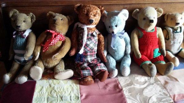 Mes ours vous souhaites un beau lundi de 1 Aout++++