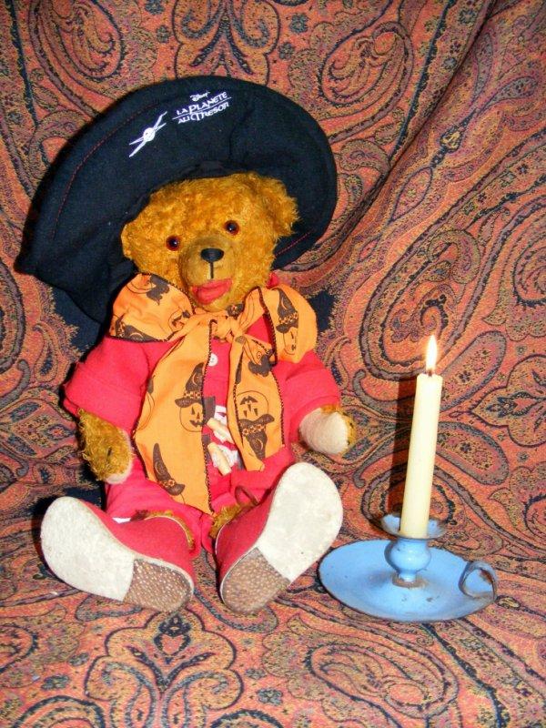Mon ours Alberic vous souhait une bonne soirée à vous tous++++