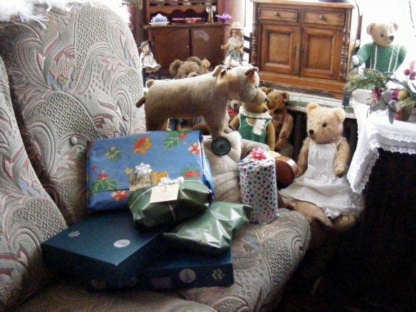 En attendant les enfants pour déballé les cadeaux+++++