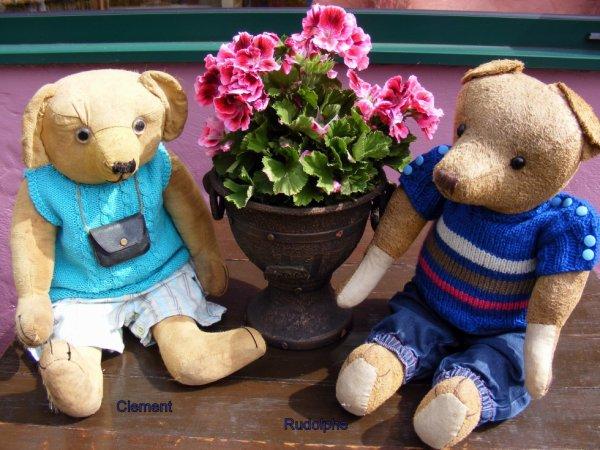 Clement et Rudolphe vous souhaite un beau weekend à vous tous++++