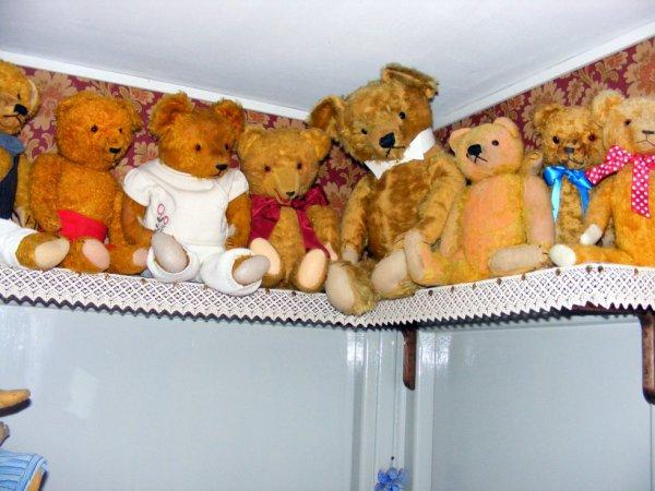 mes ours vous souhaite un beau weekend à vous tous++++