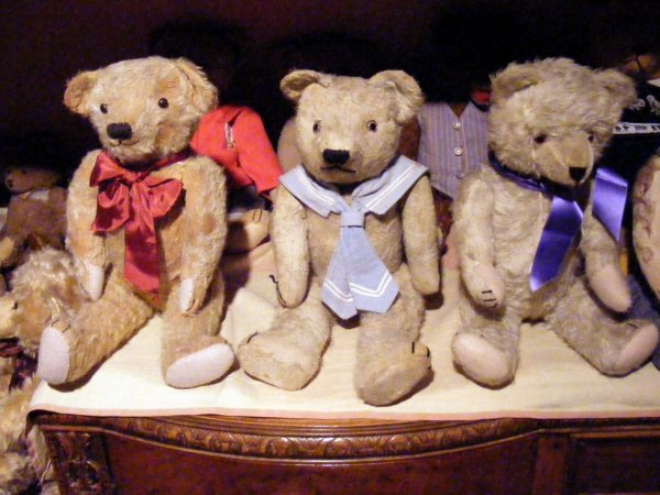 Mon trio d'ours vous souhaite un bon début de semaine