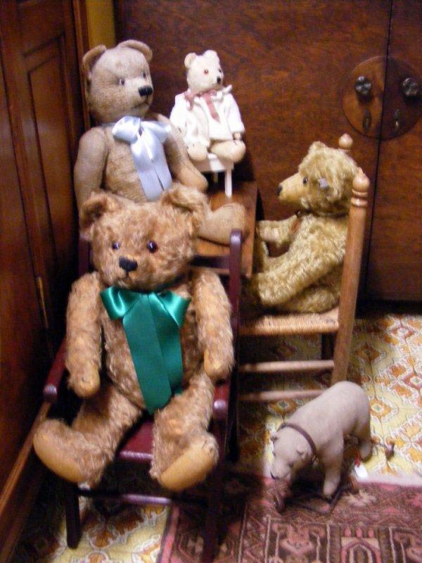 Mes ours vous souhaites une bonne journée à vous tous+++