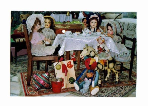 Le Noel de mes poupées il y a quelques année +++