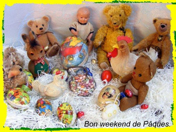 Bon weekend de Pâques à vous tous++++