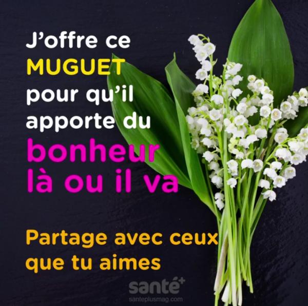 Bon 1 mai à vous tous+++