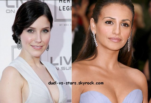 Sophia Bush vs Monica Cruz