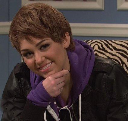 Miley En Justin Bieber :-o