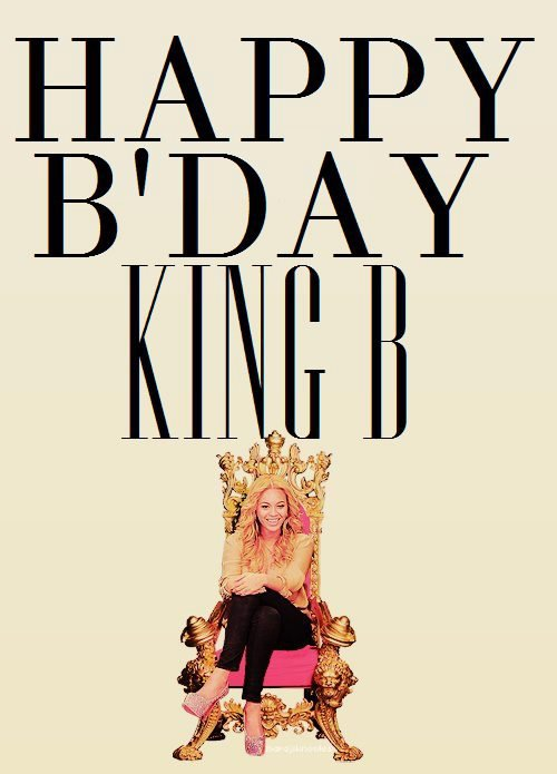 BONNE ANNIVERSAIRE KING BEE HAPPY B DAY