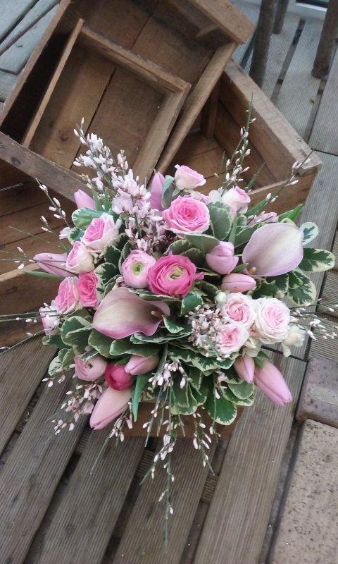 Un petit air de printemps avec ce joli bouquet