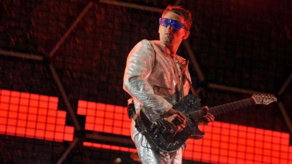 """""""If I feel something that excites me and thrills me, I don't want to keep it for me because those emotions could destroy me - and that's what I use music for."""" — Matt Bellamy."""