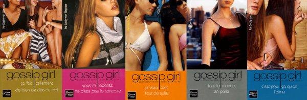 Gossip Girl ( Tomes 1 à 5 )Cecily Von Ziegesar