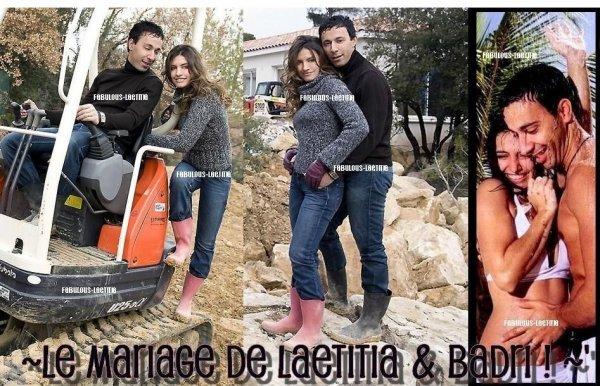 Laetitia, Son mariage ! - Fabulous-Laetitia