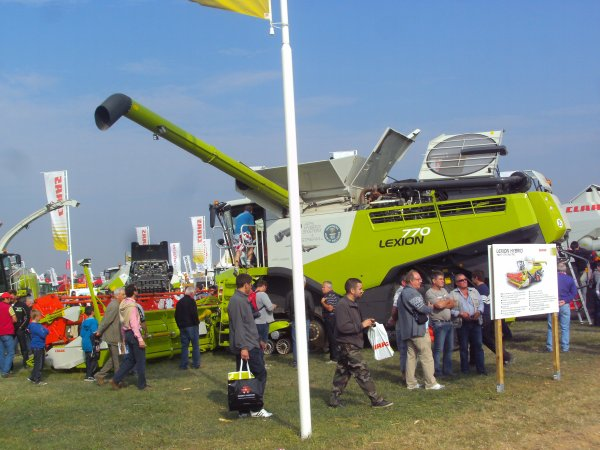 Le stand Claas