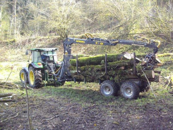 Débardage de bois