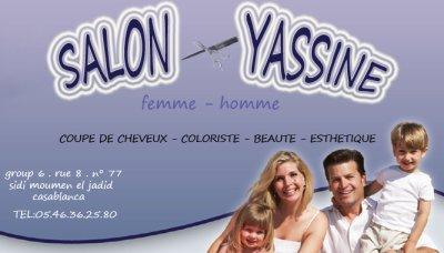 Carte Visite Coiffure Yassine