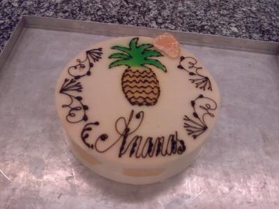 Entremets ananas fa on fraisier ma passion pour la for Decor 52 fan celano ma dw