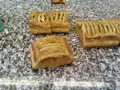 Bande de jalousie aux pommes , Ma passion pour la pâtisserie