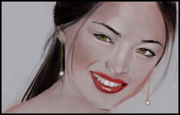 Kristin en couleur