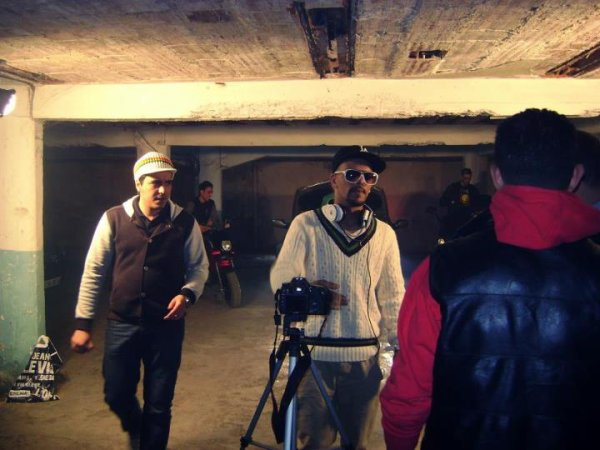 ANOUAR PHENIX - M SEZ - SAMDEX ( INTIK PROD ) KING MC - FIFO - MISTER AB....( DIRTY 16 ) en plein tournage de clip ( SM CONNECTION )