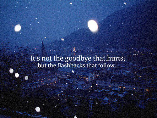 La vérité c'est que a fait mal. Alors on ment. #Grey's Anatomy.