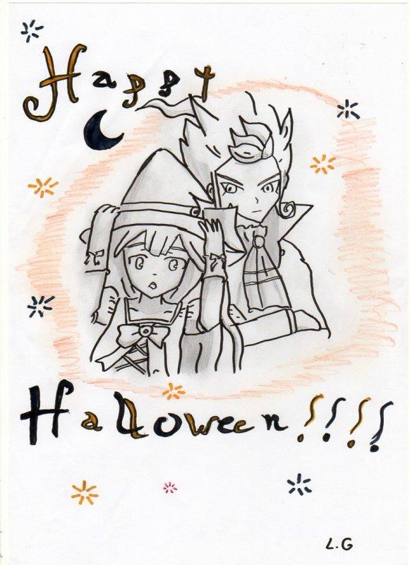 dessin spécial halloween !!!!